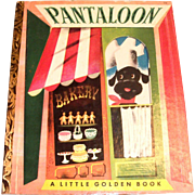 Little Golden Book: Pantaloon, 1951, A Edition