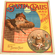 Santa Claus And His Works 1970's Reprint Paperback Book
