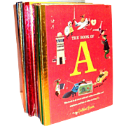 Little Golden Books: 16 Books Of My First Golden Learning Library: Alphabet Books - 1965, A Edition
