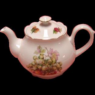 Belfor Fine Bohemian China Teapot - Czechoslovakia