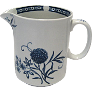 Barker Bros. Ltd. Cathay Blue Creamer