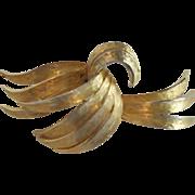 Goldtone Alan J. Goldtone Brooch/Pin