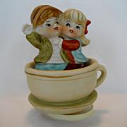 "Hi-Mark ""Tea For Two"" Music Box"