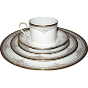 Noritake Blossom Mist 5 Pc. Place Setting - 6 Available