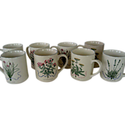 Set of 6 Woodbine Meadows Mugs - Certified International