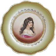 Carlsbad China Austria Portrait Plate