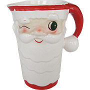 Holt Howard Winking Santa Pitcher