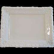Fenton White Milk Glass Picture Frame