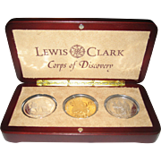2003 Lewis and Clark Coop of Discovery Bicentennial Commemorative Proof Coin Set