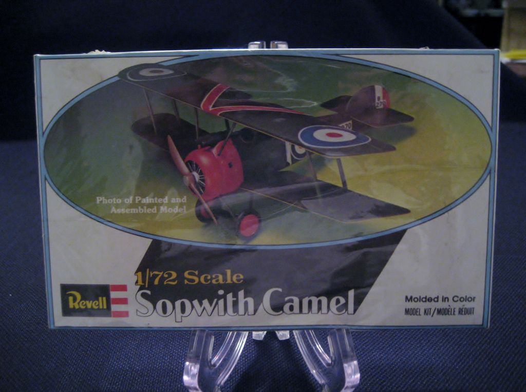 Revell 1/72 Scale Sopwith Camel Model Kit - Sealed Box