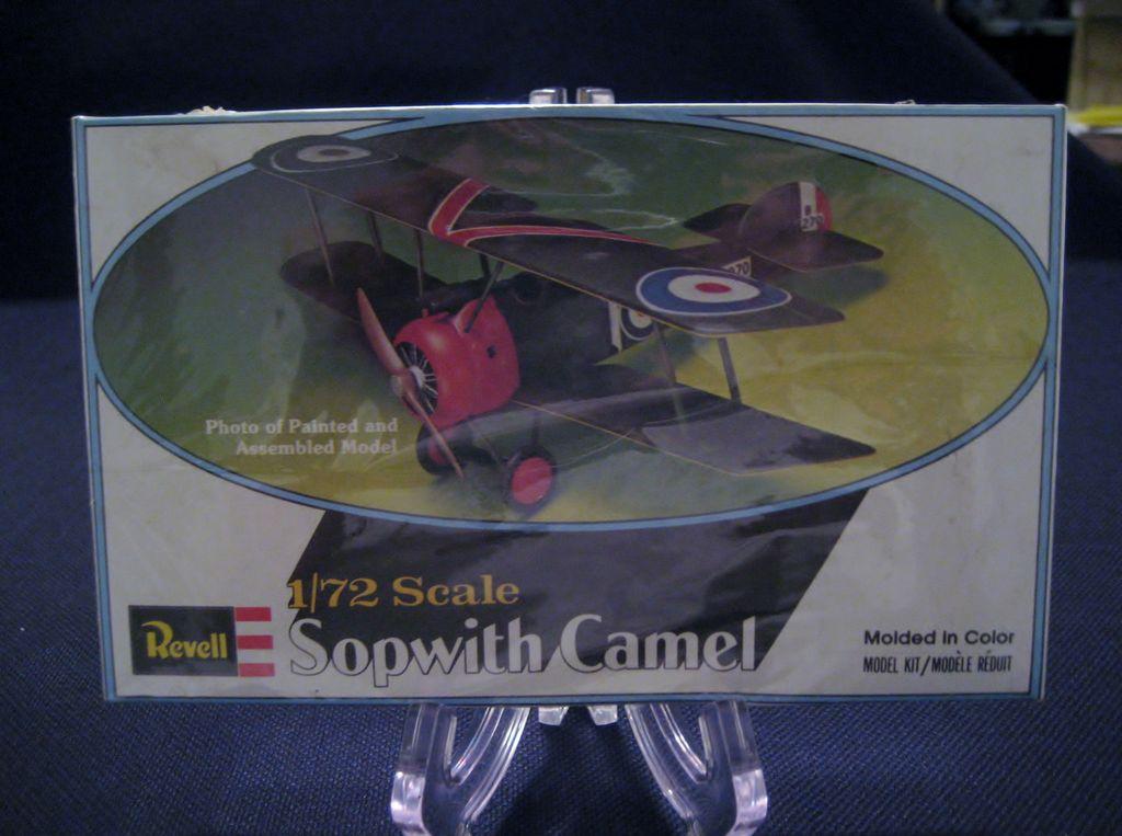Revell 1/72 Scale Sopwith Camel Model Kit - Sealed Box