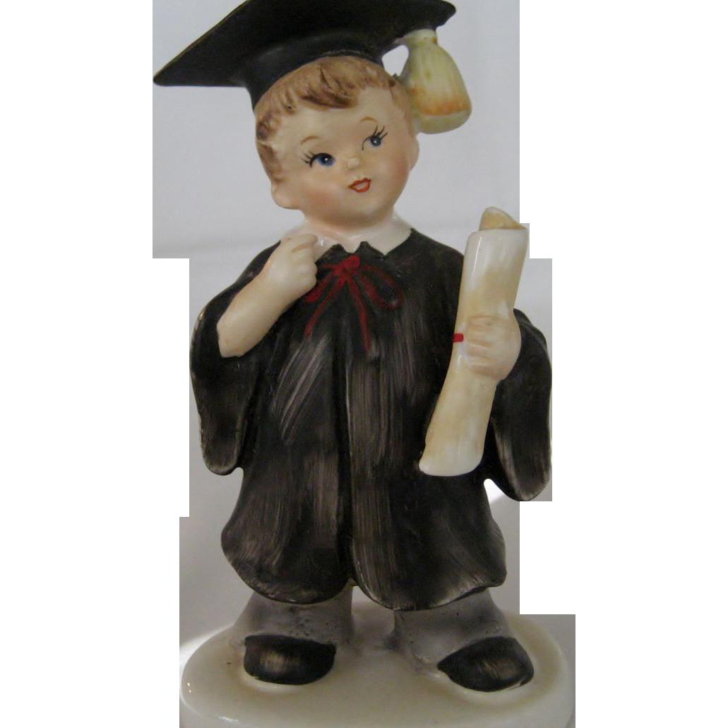 Boy Graduate Figurine