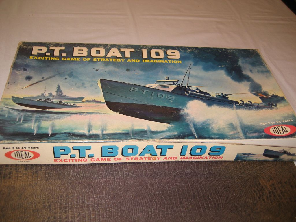 P.T. Boat 109 Game - 1963