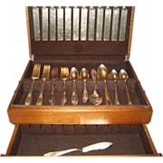 67 Pc. Oneida Par Plate Ardsley 1921 Flatware
