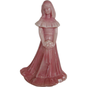 Fenton Glass Rosalene Bridesmaid Figurine
