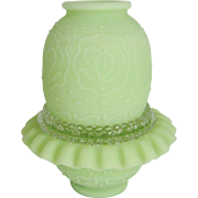 Fenton Lime Green Satin 3-Piece Fairy Light