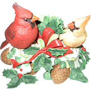 Lenox Cardinal Figurine Candle Holder