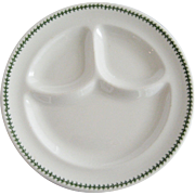 Set of 3 Syracuse China Divided Restaurant Grill Plates