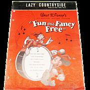 Lazy Countryside Sheet Music - Disney