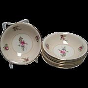 Homer Laughlin Priscilla Dessert/Berry Bowl - Household Institute - 7 Available