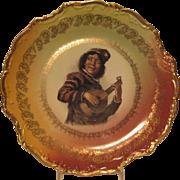 German Minstrel Plate