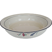 "Lenox ""Poppies on Blue""  Round Vegetable Bowl"