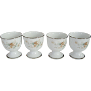 set of 4 Noritake Ireland Egg Cups