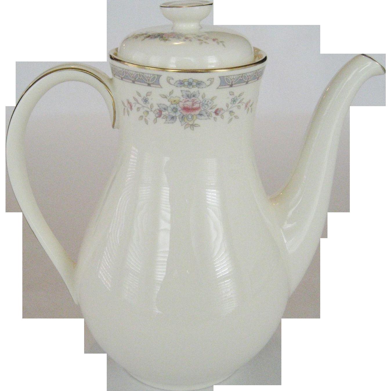 """Royal Doulton """"Rebecca"""" Coffee Pot"""