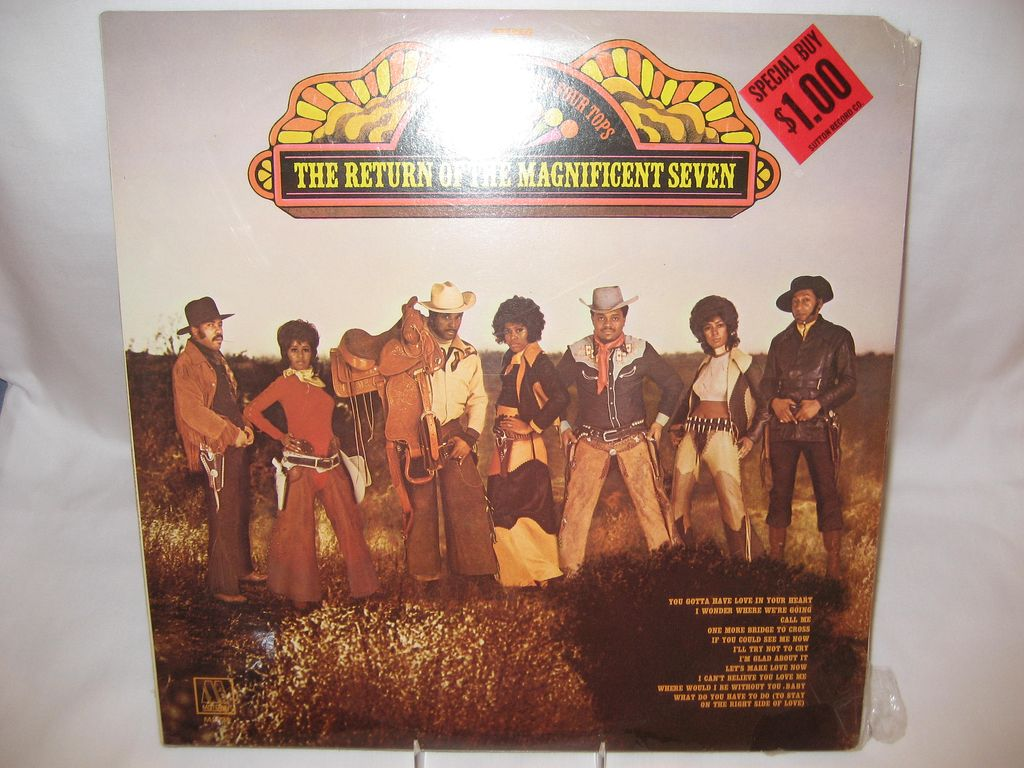 Supremes & Four Tops Record Album - Return Of The Magnificent Seven