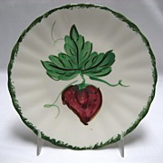 Blue Ridge Southern Potteries Wild Strawberries Bread & Butter Plates