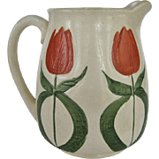 Wheeling Pottery - Avon - Tulip Pitcher