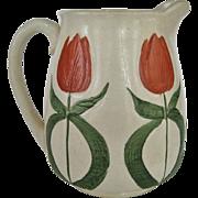 Wheeling Pottery - Avon - Tulip Pitcher