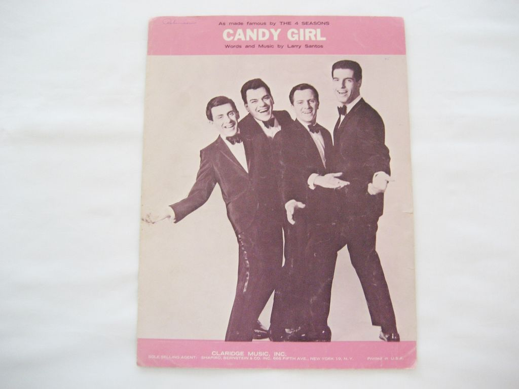 4 Seasons Sheet Music - Candy Girl