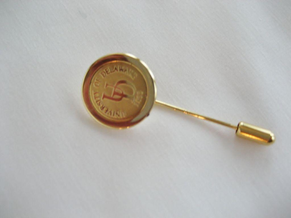 University of Delaware Stick Pin - CSI Gold Medallion Collection