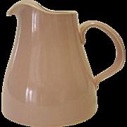 Pink USA Pottery Pitcher - Ice Lip