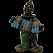 Black Clown Salt and Pepper Shakers