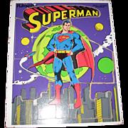 Playskool 18 Piece Superman Puzzle - 1976