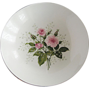 "Royal China Queen's Rose 9 5/8"" Round Serving Bowl"