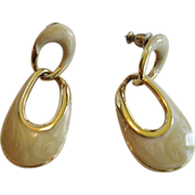 Napier Door Knocker Pierced Earrings