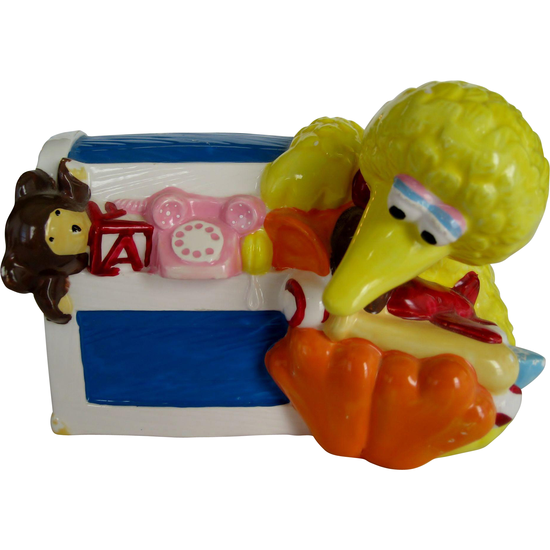 Sesame Street Big Bird Ceramic Coin Bank - Jim Henson