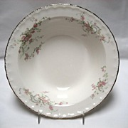 "Pope Gosser China ""Jean"" 8 1/2"" Serving Bowl"