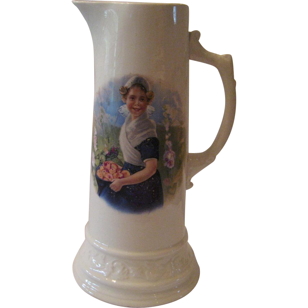 Royal Firenze Portrait Tankard/Pitcher