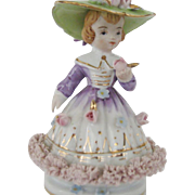 Lovely Napco Lady Figurine