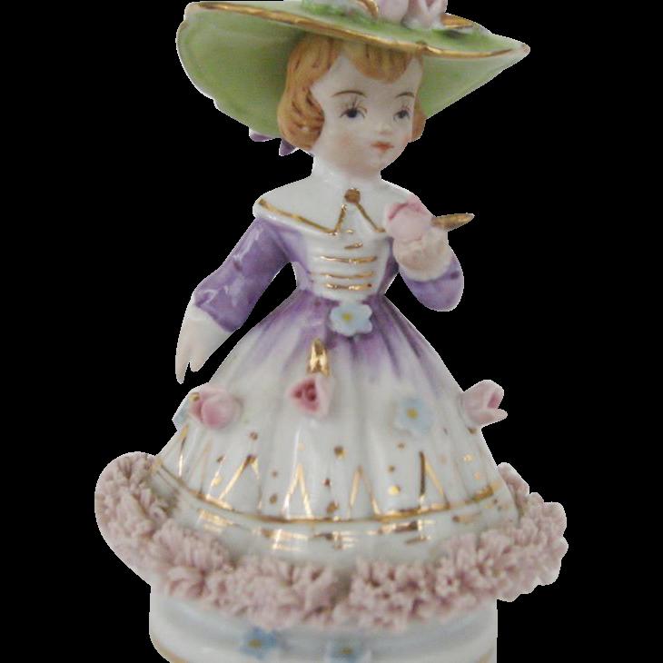 Lovely Napco Lady Figurine
