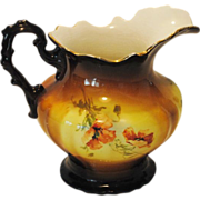 Warwick China Floral Pitcher