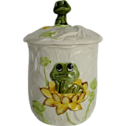 Sears Roebuck Small Frog Canister - 1977