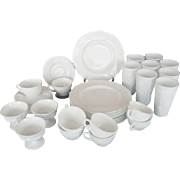 Indiana Glass Colony Harvest Dinnerware - 35 Pcs.