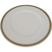 Syracuse Greek Key Dinner Plates - 5 Available