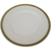 Syracuse Greek Key Salad Plates - 4 Available