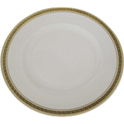 Syracuse Greek Key Bread and Butter Plates - 6 Available